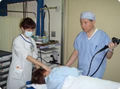 内視鏡検査、胃カメラの挿入