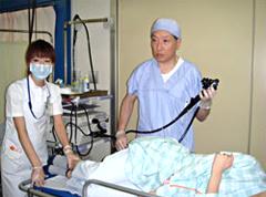 大腸検査の様子